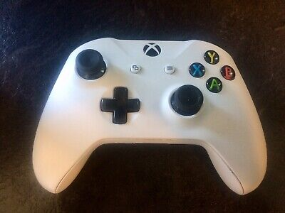 Microsoft Official Xbox One Wireless Controller - White - Right Analogue Faulty