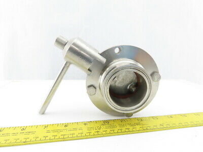 "2"" Stainless Steel Sanitary Butterfly Valve"