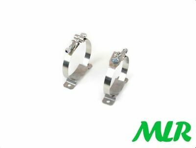 "Accusump Oil Pressure Accumulator 3-1/4"" Stainless Steel Mounting Clamps"