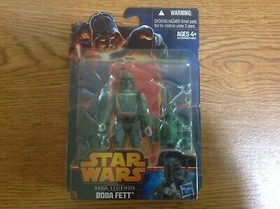"Star Wars Saga Legends Boba Fett SL09 3.75"" Action Figure 2013"