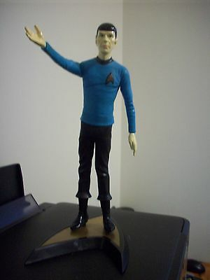 "1991 Paramount Pictures 11"" Spock with Stand"