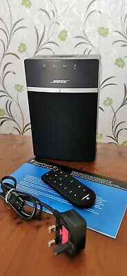 Bose Soundtouch 10 Wi-Fi Bluetooth Remote In Black