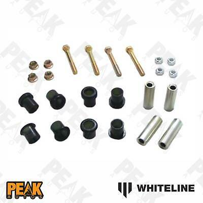 Whiteline Bushing Caster Kit Rear Control Arm Inner And Outer BMW 3 Series E30 1