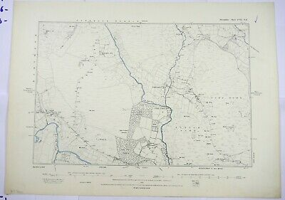1889 OS 6 inches to a mile Map of Devonshire – Riddon CVIINE
