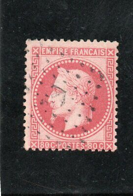 Timbre France Napoleon Iii   N° 32.  Oblitere Ancre
