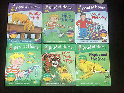 Oxford Reading Tree Read At Home With Biff, Chip & Kipper 6 BOOKS -LEVELS 1,2