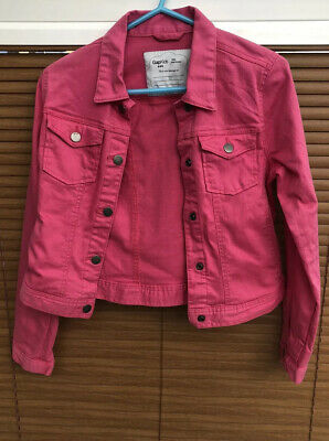 Gap Kids Pink Denim Jacket. Gap Size 13XL. Very Good Condition.