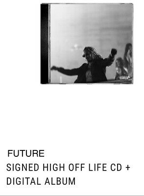 """Future - Signed """"High Off Life"""" - Autographed CD + Digital Album *PREORDER*"""