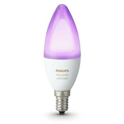 PHILIPS Hue White & Colour Ambience Bulb - E14 Candle