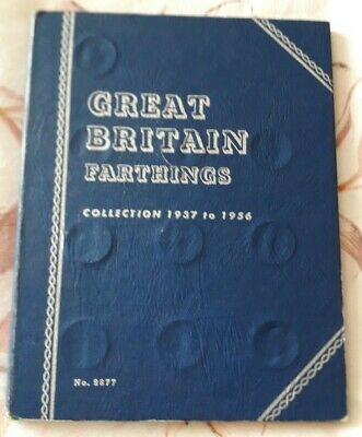 Whitman Farthing Collection 1937 to 1956 Complete Folder Full set