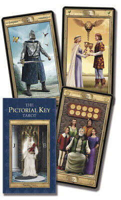 Pictorial Key Tarot Deck Lo Scarabeo New Sealed