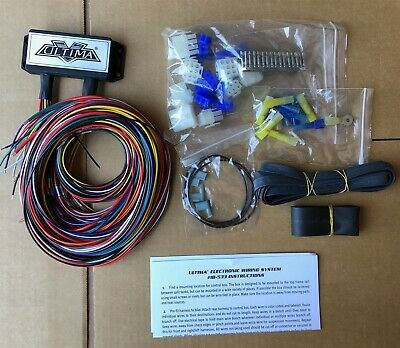 ULTIMA® Plus Electronic Wiring Harness System for Harley and Custom Motorcycles