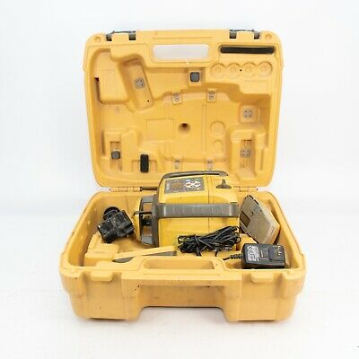 Topcon RL-SV2S Dual Slope Rotary Laser Level with LS-1000 Receiver and Remote