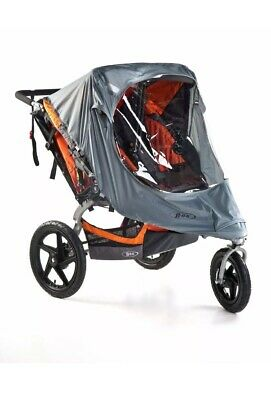 Double BOB Weather Shield for Revolution & Strides Duallie Stroller Used WS1372