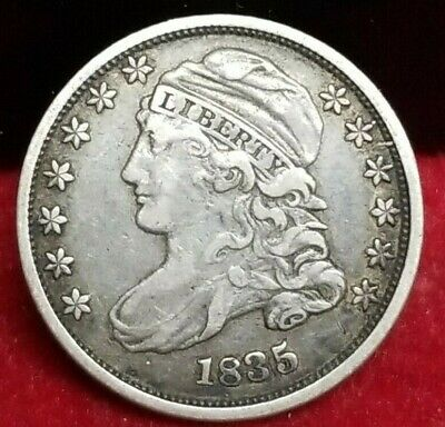 1835 Capped Bust Dime Very Fine