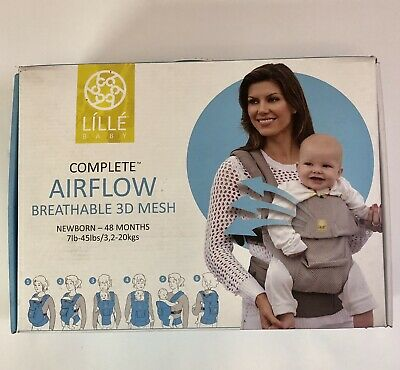 Lillebaby 6 in 1 Complete Airflow Baby Carrier Breathable 3D Mesh