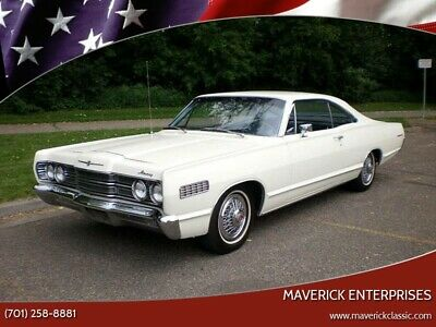 1967 Mercury Monterey 1 of 343 Made! California Black Plate! Low Production Numbers 390 V8! 2D Fastback Marti Report