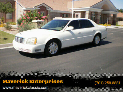 2002 Cadillac DeVille Base 4dr Sedan 2002 Cadillac DeVille V8 Loaded ARIZONA car Leather LOW MILES AC BEST OFFER CALL