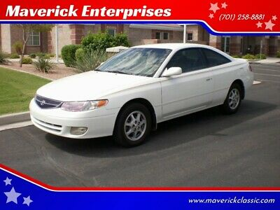 2000 Toyota Solara SE 2dr Coupe 35. MPG! ARIZONA car AC PW PL CD Bucket Seats BEST OFFER MAKE OFFER Fuel Economy