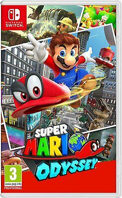 Juego Nintendo Switch Super Mario Odyssey N-Switch 2076056