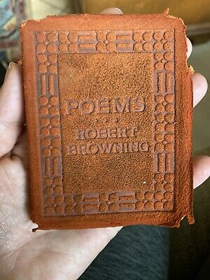 Poems Of Robert Browning Little Leather Library Antiquarian