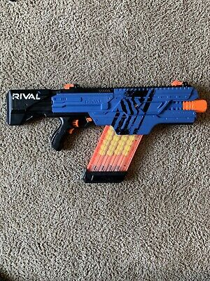 Nerf Rival Khaos MXVI-4000 Blaster (Blue) Batteries Not Included With 40 Rounds
