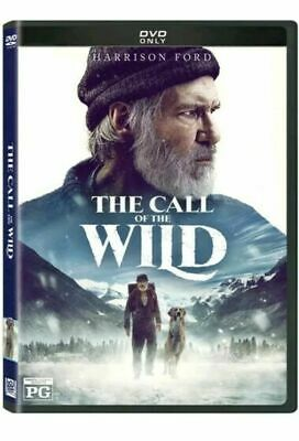 The Call of the Wild [DVD] [2020] NEW* Harrison Ford * PRE-ORSER SHIPS ON 06/05