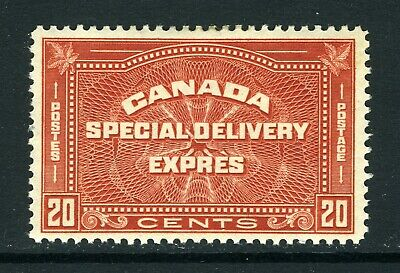 CANADA Scott E5 - NH/DG - 20¢ Henna Brown Special Delivery (.027)