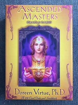 Doreen Virtue Ascended Masters Oracle Cards Deck Guidebook