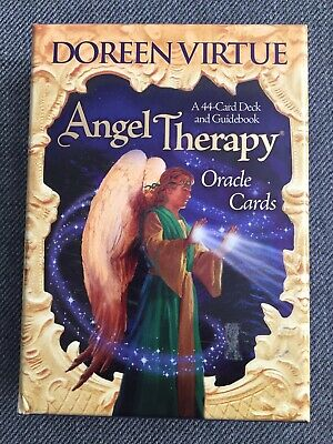 Doreen Virtue Angel Therapy Oracle Cards Deck Guidebook