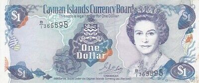 1996 Cayman Islands $1 Note, Pick 16a