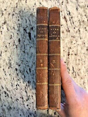 "1781 Antique History Books ""The Private Life of Lewis XV"""