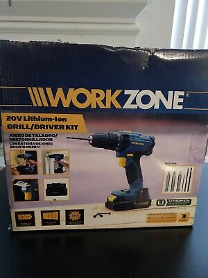 WORKZONE 12V Drill, Drill bits included , NEW (came with Broken Battery)
