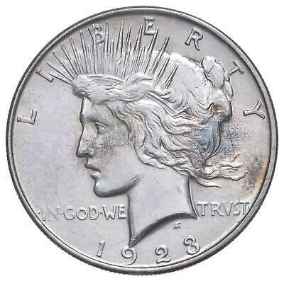 Early - 1923-D - Peace Silver Dollar - 90% US Coin *476