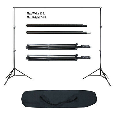 Photo Studio Black White Green Screen Backdrop Supporting Set Background Stand