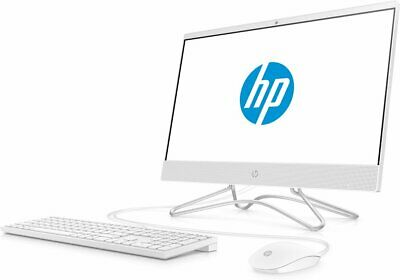 "NEW HP 22-C0063W ALL-IN-ONE PC 21.5"" FHD INTEL C G4900T 2.9GHz 4GB 1TB HD WIN 10"