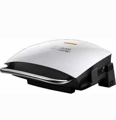 GEORGE FOREMAN Family Grill and Melt - Health Grill - Silver - FREE POST