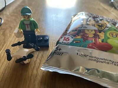 LEGO 71027 - Lego Minifigures Series 20 - No.16 Drone Boy (NEW but opened!)