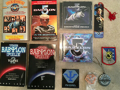 Large Babylon 5 collection