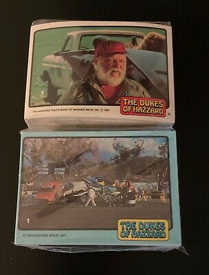 1981 Donruss Dukes of Hazzard Series 1 & 2 Complete Sets