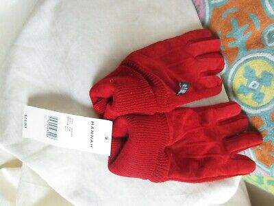 Thinsulate Gloves Women's Small/Medium NWT 🎁 Insulation 40 Grams Suede Red