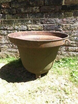 Reclaimed Victorian Antique Cast Iron Feeder / Trough / Planter