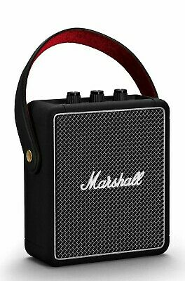 Marshall Stockwell II Bluetooth Speaker - Black - Brand New