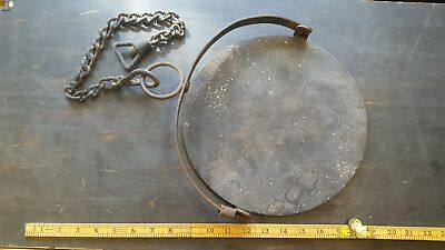 Beautiful Antique Cast Iron Hanging Griddle Pan 28449