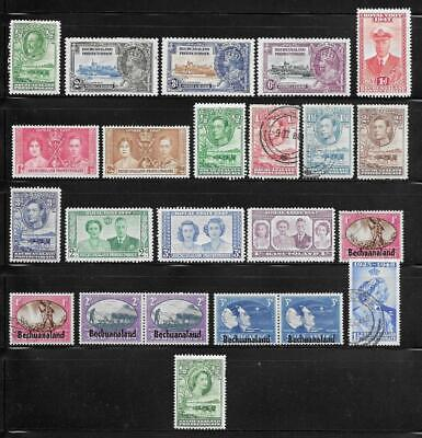 Bechuanaland Protectorate Collection Old Stamps