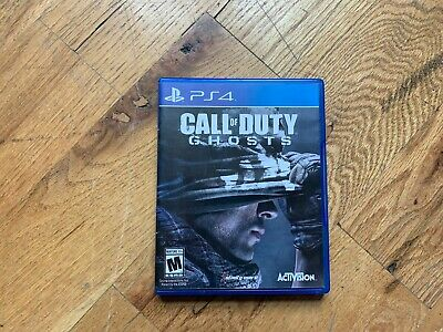 Call of Duty: Ghosts (PlayStation 4, 2013) PS4 Video Game