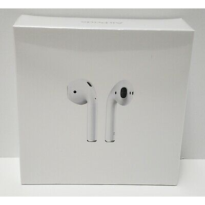 Apple AirPods Gen 2 with Gen 1 Charging Case - White (New)