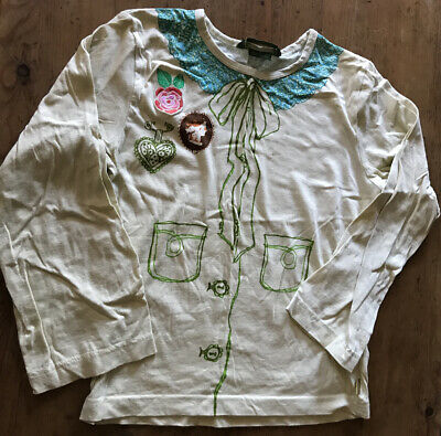 Beautiful Oilily Girls Top Age 11-13 Yrs New