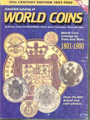19Th Century Standard Catalog Of World Coins  Listing By Date And Mint 1990'S
