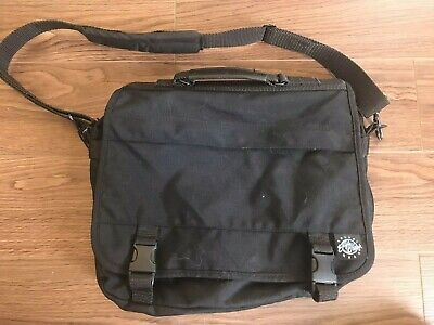Eagle Creek Nylon Laptop Messenger Bag Shoulder Bag Expandable Black